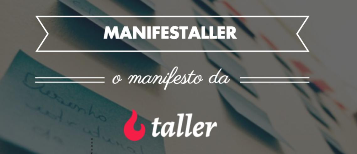 Manifestaller - manifesto da Taller