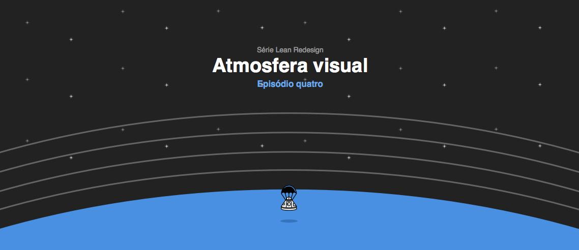 Lean Redesign UI Atmosfera Visual