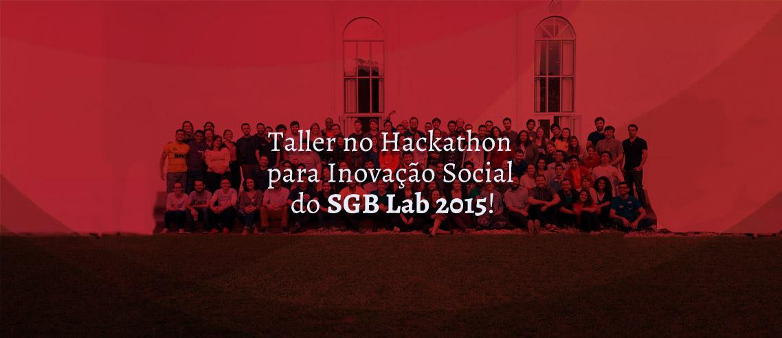 Hackathon para Inovação Social