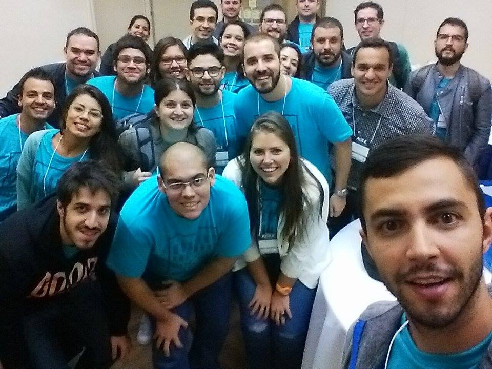 voluntários Agile Trends 2016